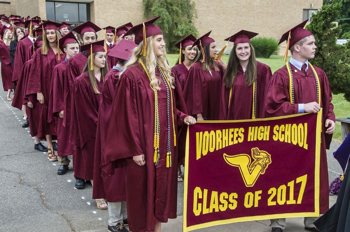 Voorhees High School graduates the Class of 2017