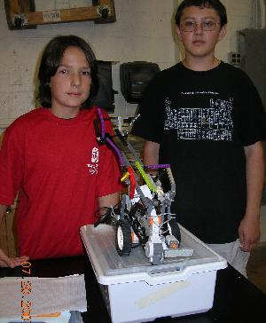 Youths get taste of robotics in program