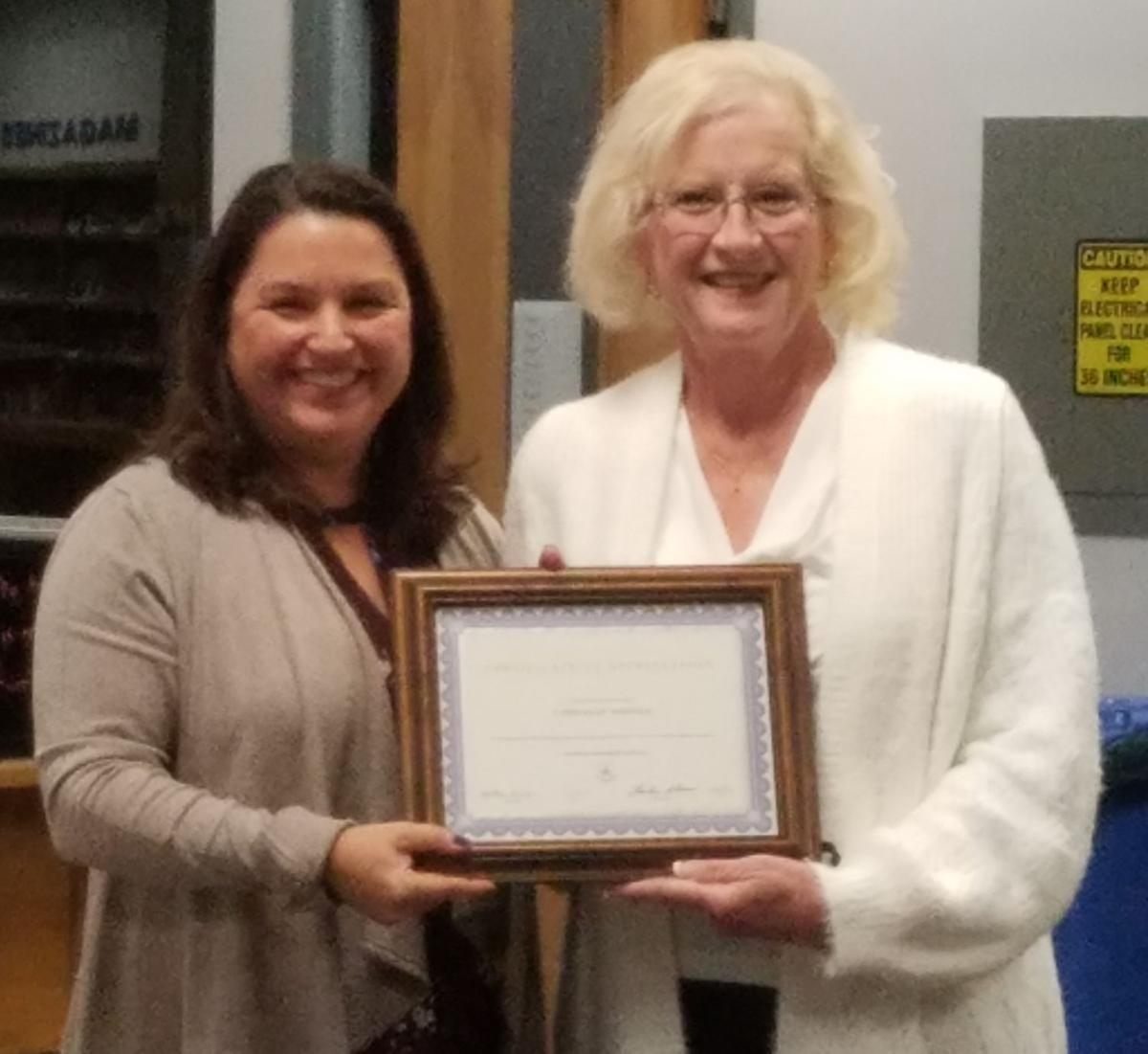 Warren schools honor staff member who saved choking student