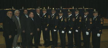 Fairfield promotes six police officers