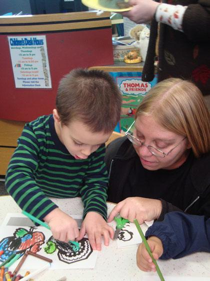 Montville Library a hit with families
