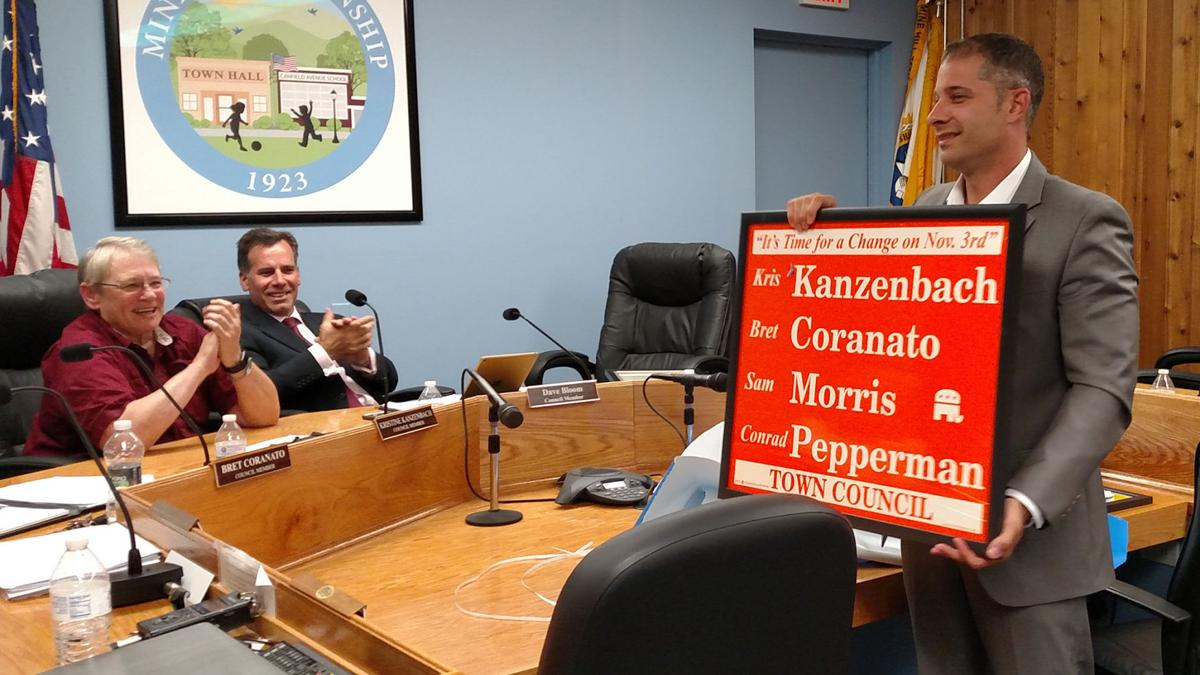 VIDEO: It's official: Mine Hill's Pepperman steps down