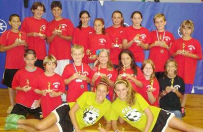 Florham Park Sharks wrap up season, win team awards