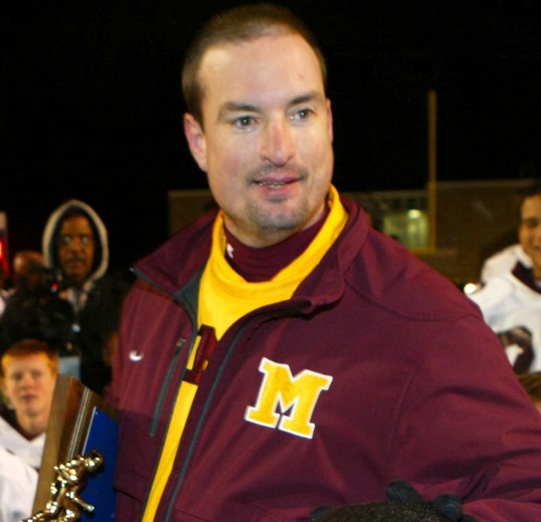 Madison High School head football coach Chris Kubik