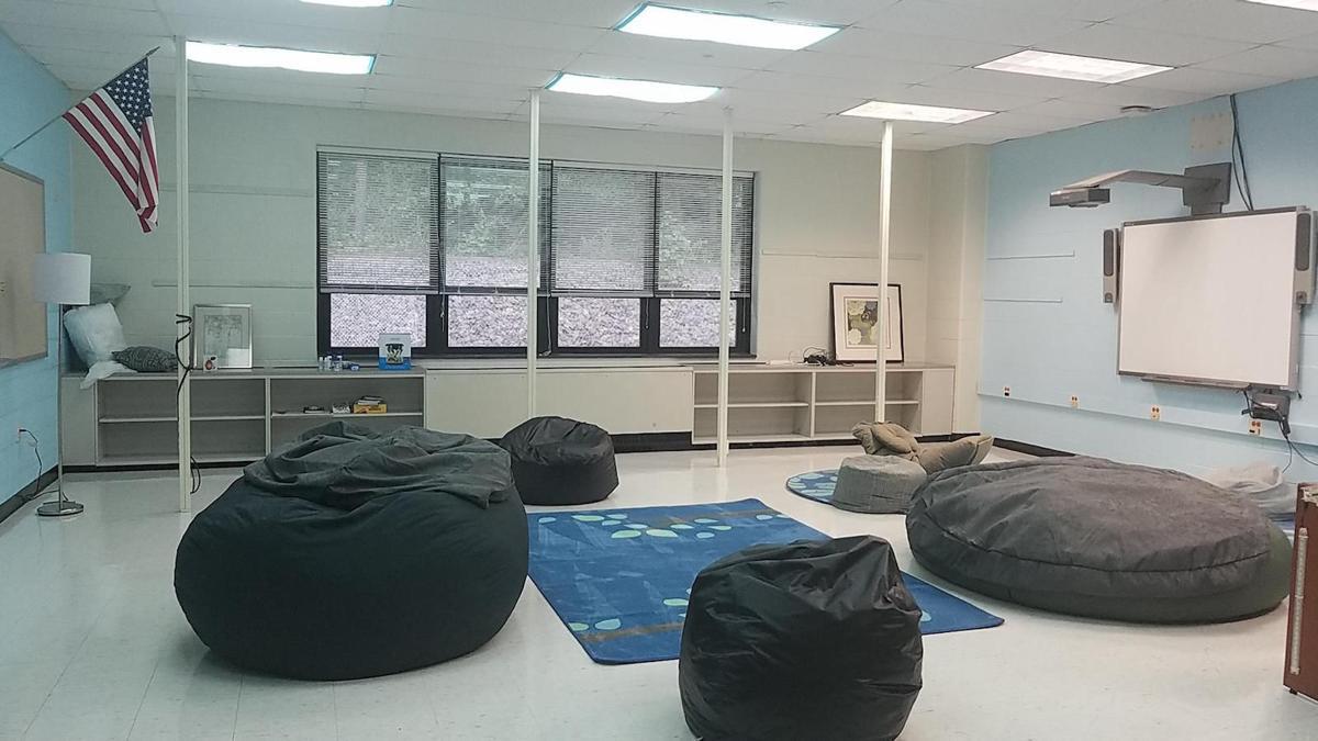 'Zen Den' at Warren Middle School