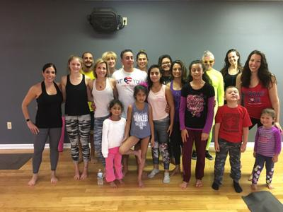 VIDEO) Long Valley family uses yoga to help raise funds for