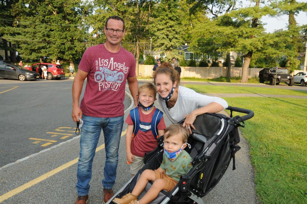 Florham Park student enters first grade