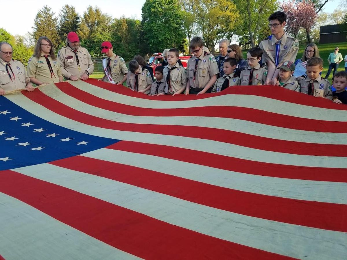 Annandale Boy Scout Troop 200's annual flag retirement ceremony will be held on Monday, May 20