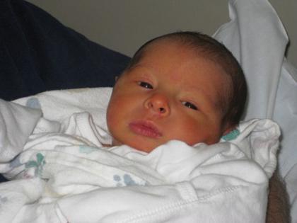 DANIEL JOSEPH RUGGERIO was born Sunday, May 16
