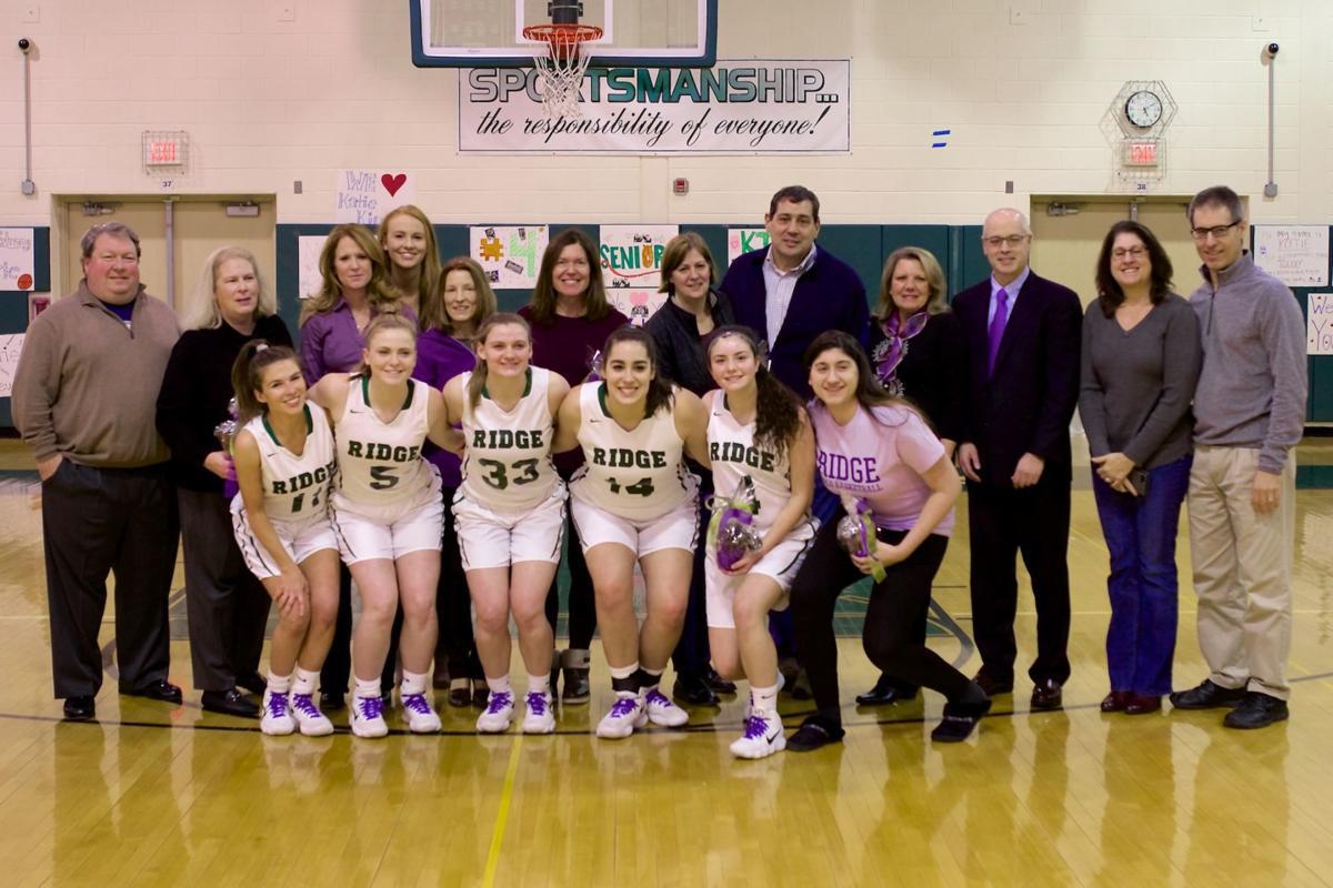 Ridge girls basketball seniors