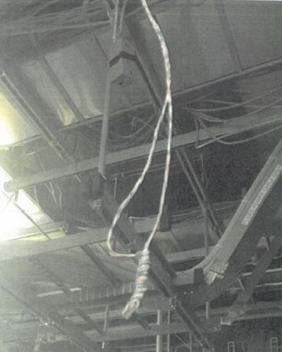 NOOSE AT WORKPLACE