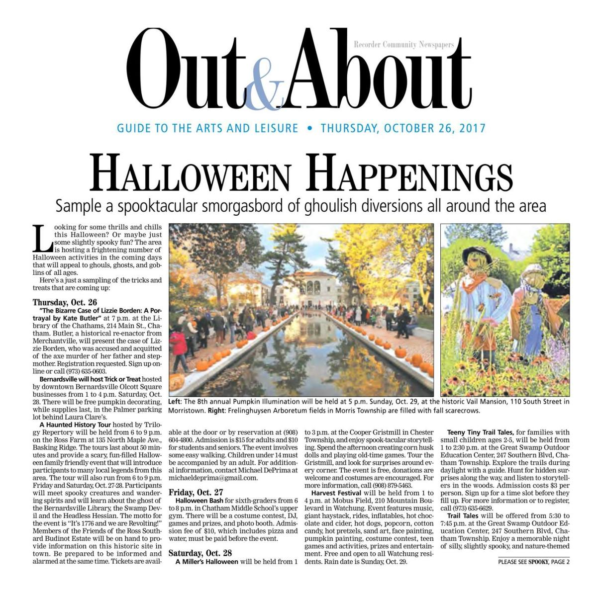 Out & About - October 2017
