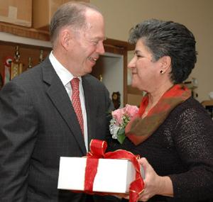 A Corsage For Toni - Borough hall bids farewell to the woman who made it work