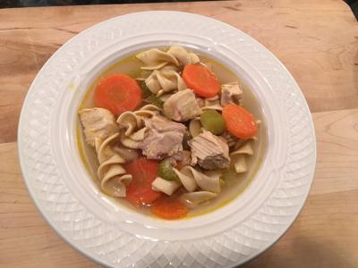 Chef Bob's Chicken Noodle Soup with Vegetables