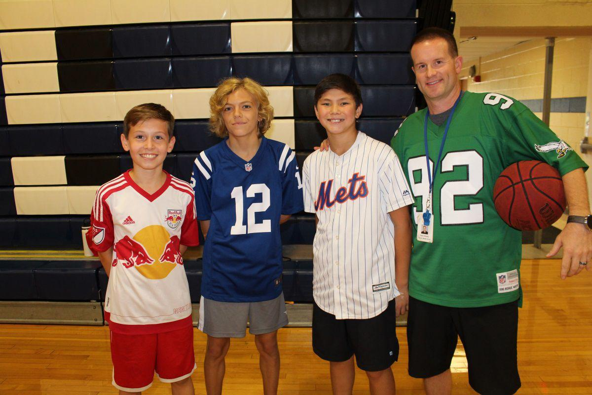 """Warren Middle School students pay homage to sports heroes during """"Week of Respect"""""""