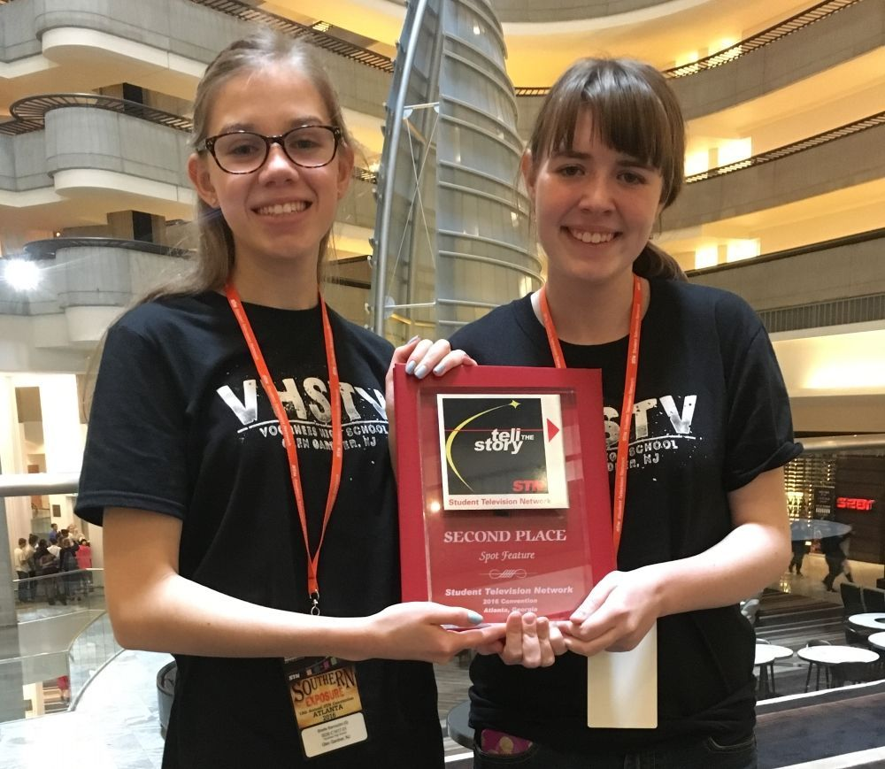 Voorhees students take second in national video competition