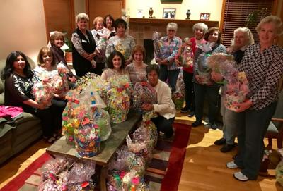 GFWC Woman's Club Easter Basket Collection in 2019