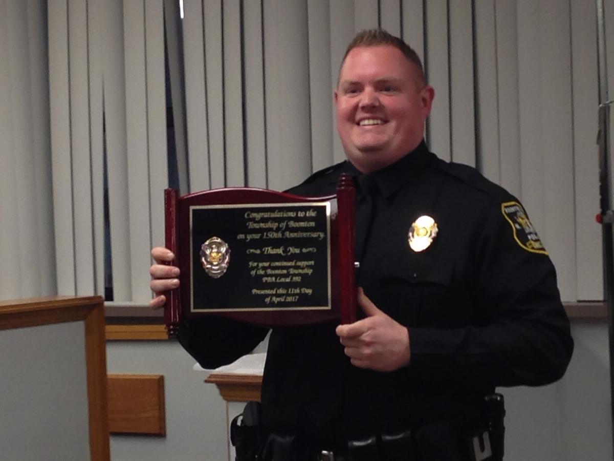 Cop plaque