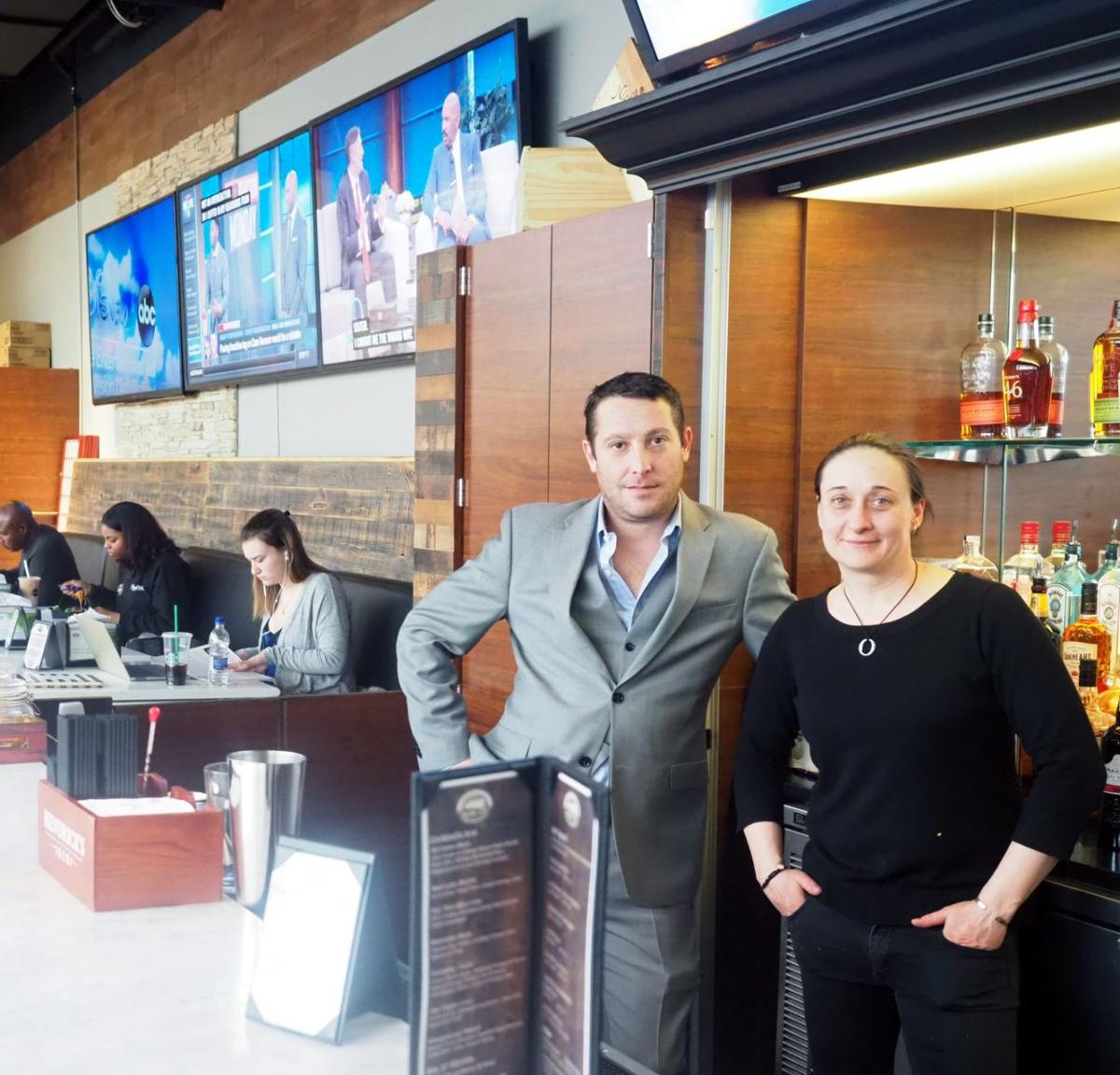 Say hello to new bar bin 37 at shoprite in hanover township bin 37 general manager jason mongiovi and bartender julie yarotsky preside over the recently opened bar area at shoprite of greater morristown falaconquin