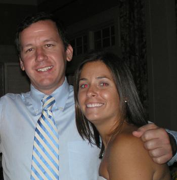 Keith Reynolds and Gina Disanti