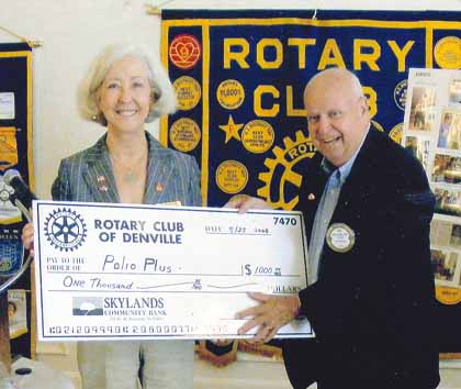 Rotary helps fight polio