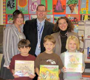Wal-Mart Reads in Lebanon Township
