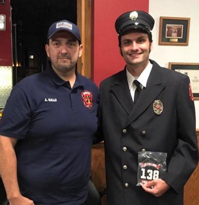 Stirling Fire Company welcomes newest firefighter