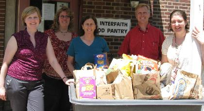 Morris County museums donate to food pantry