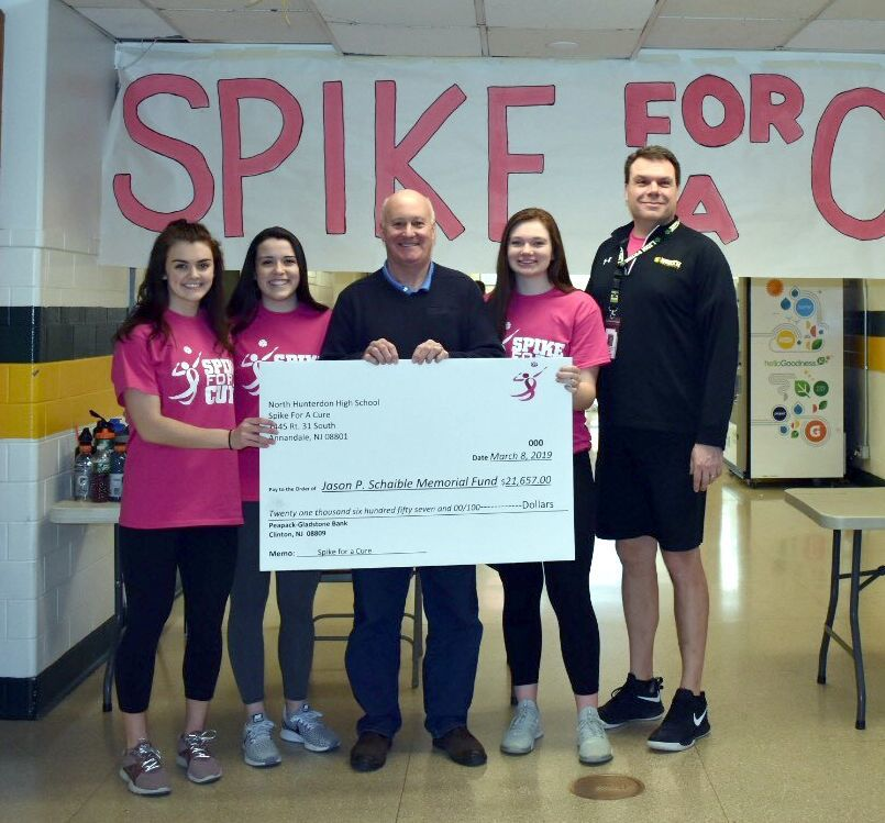 NHHS Spike for a Cure check presentation