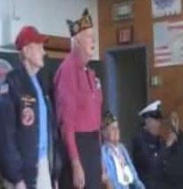 Mount Arlington School honors veterans