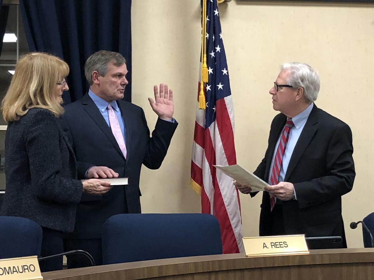 Rees sworn in