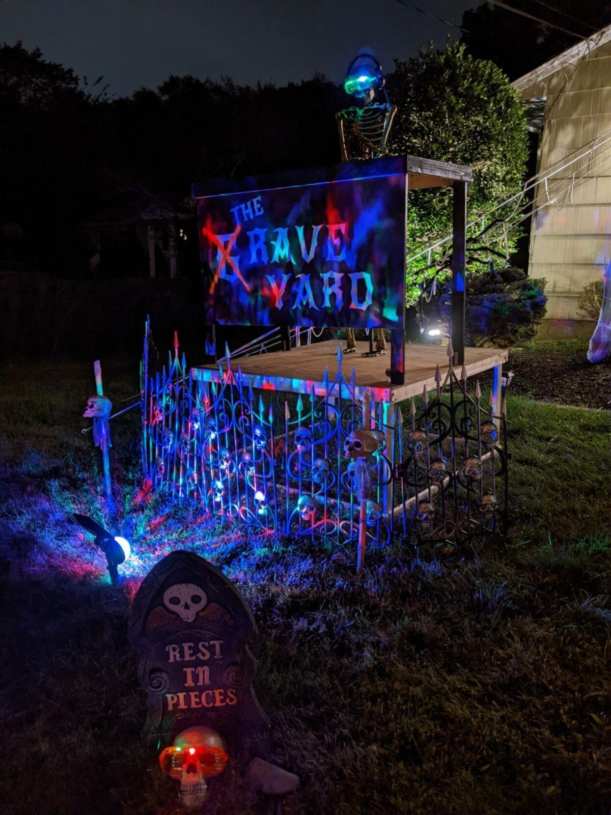 A skeleton rave in Florham Park