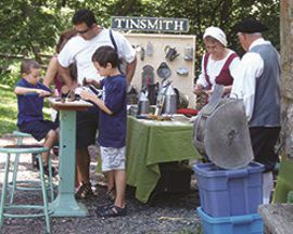 Industrial Crafts Day at Cooper Gristmill