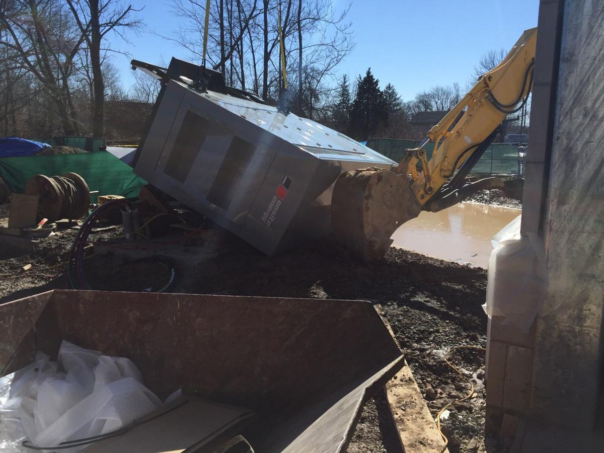 Fallen Generator Kills Workers