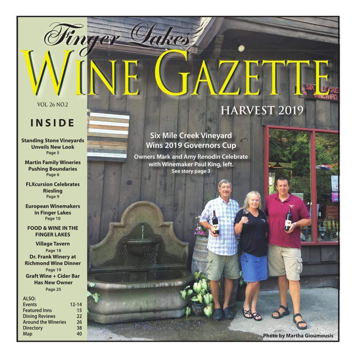 Finger Lakes Wine Gazette - August 2019