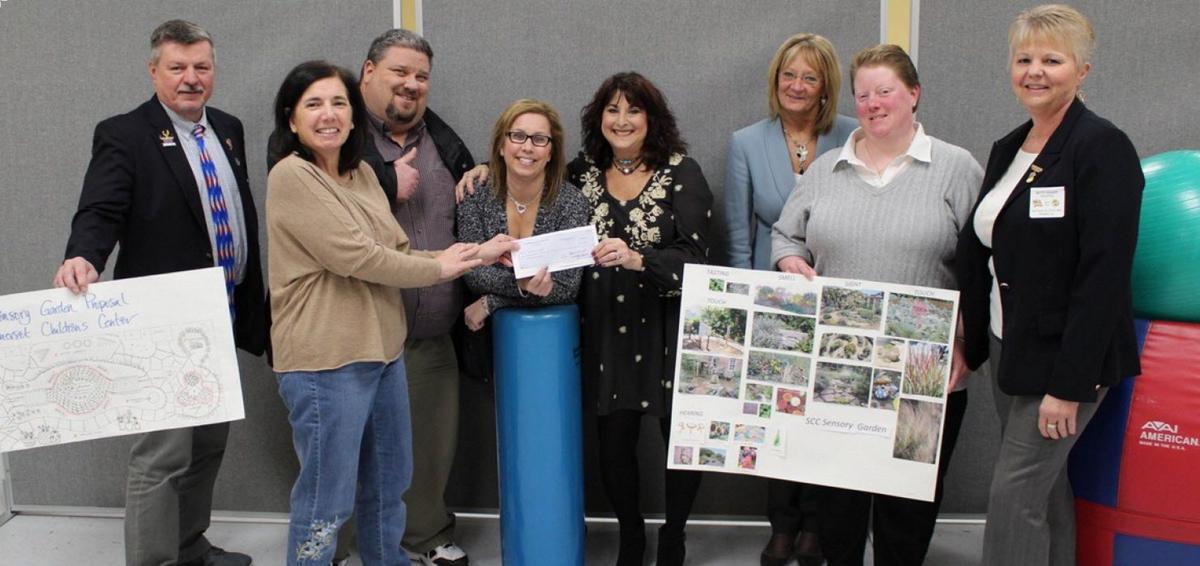 Watchung Hills Elks donate $4K for 'sensory garden' for special needs children