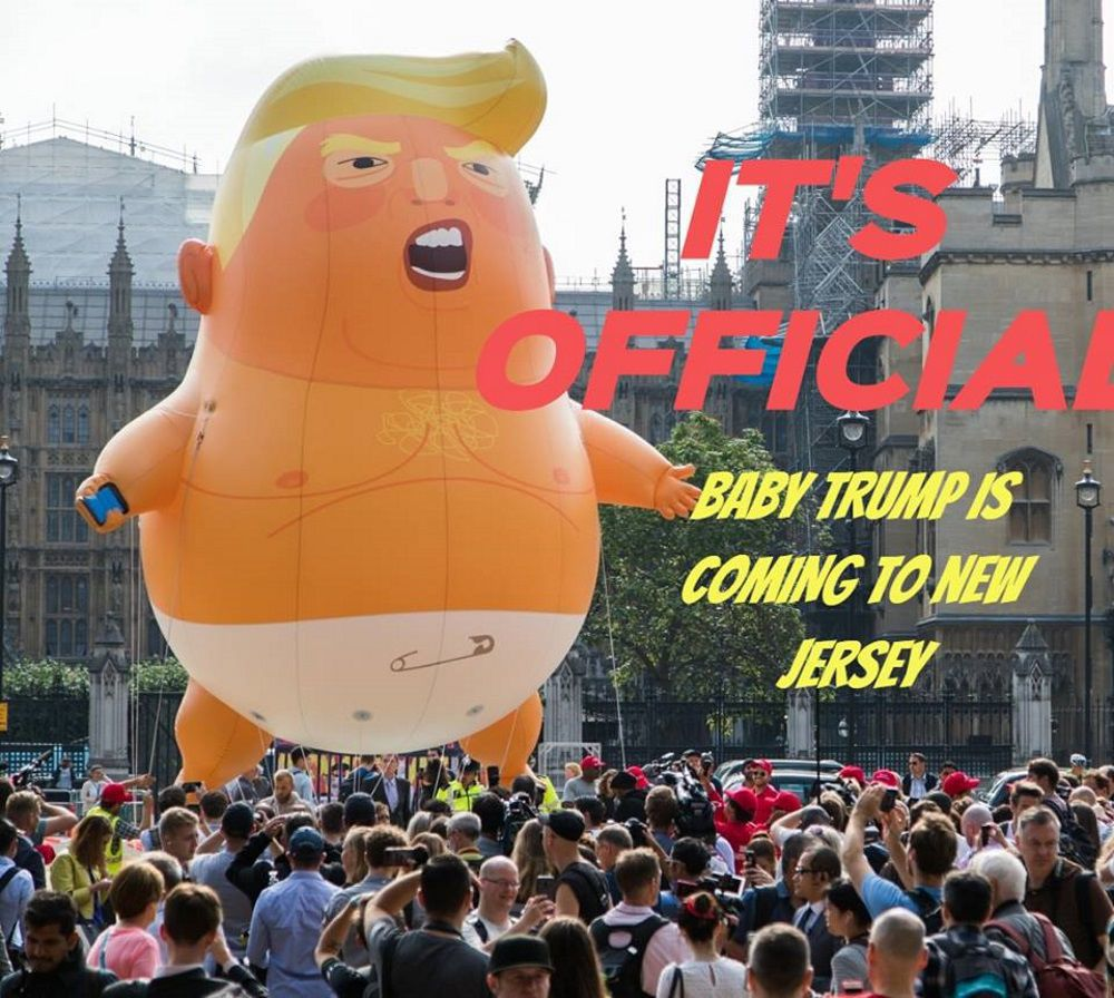 Will 'Baby Trump' balloon fly in Bedminster?