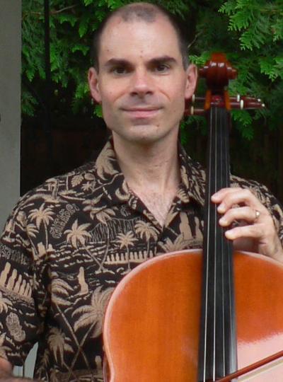 Cellist Randy Calistri-Yeh