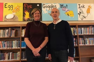 Tewksbury Library will inaugurate new Alphabet Mural on Saturday, May 19