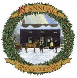 Colonial Christmas logo