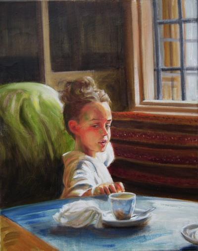 'In a Moorish Cafe'
