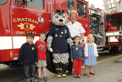 Sparky the Fire Dog in Chatham