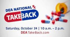 Tewksbury police to take unused prescriptions tomorrow, Saturday, Oct. 24