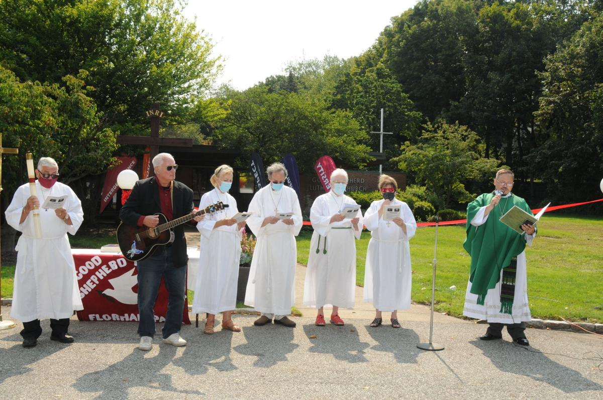 Florham Park church holds symbolic reopening amid pandemic