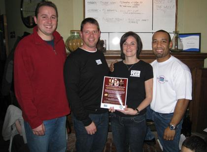 Caldwell Community and Cloverleaf Tavern help local runners raise funds for charity