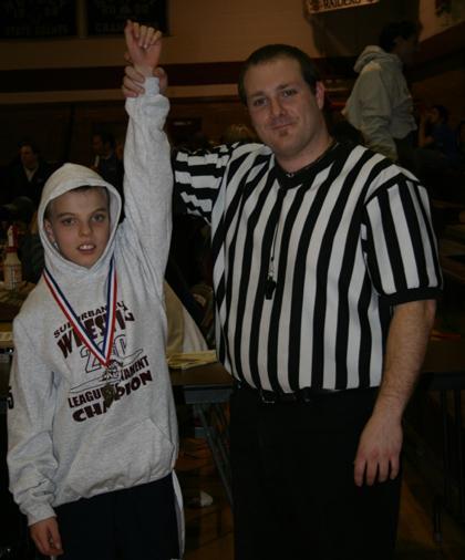 6th grade wrestler earns championship