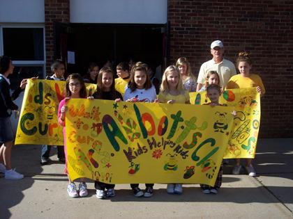 Hanover Twp. students walk for diabetes