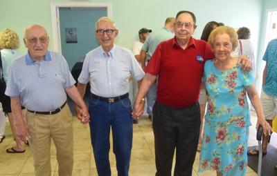 A gathering of Bybee's elders