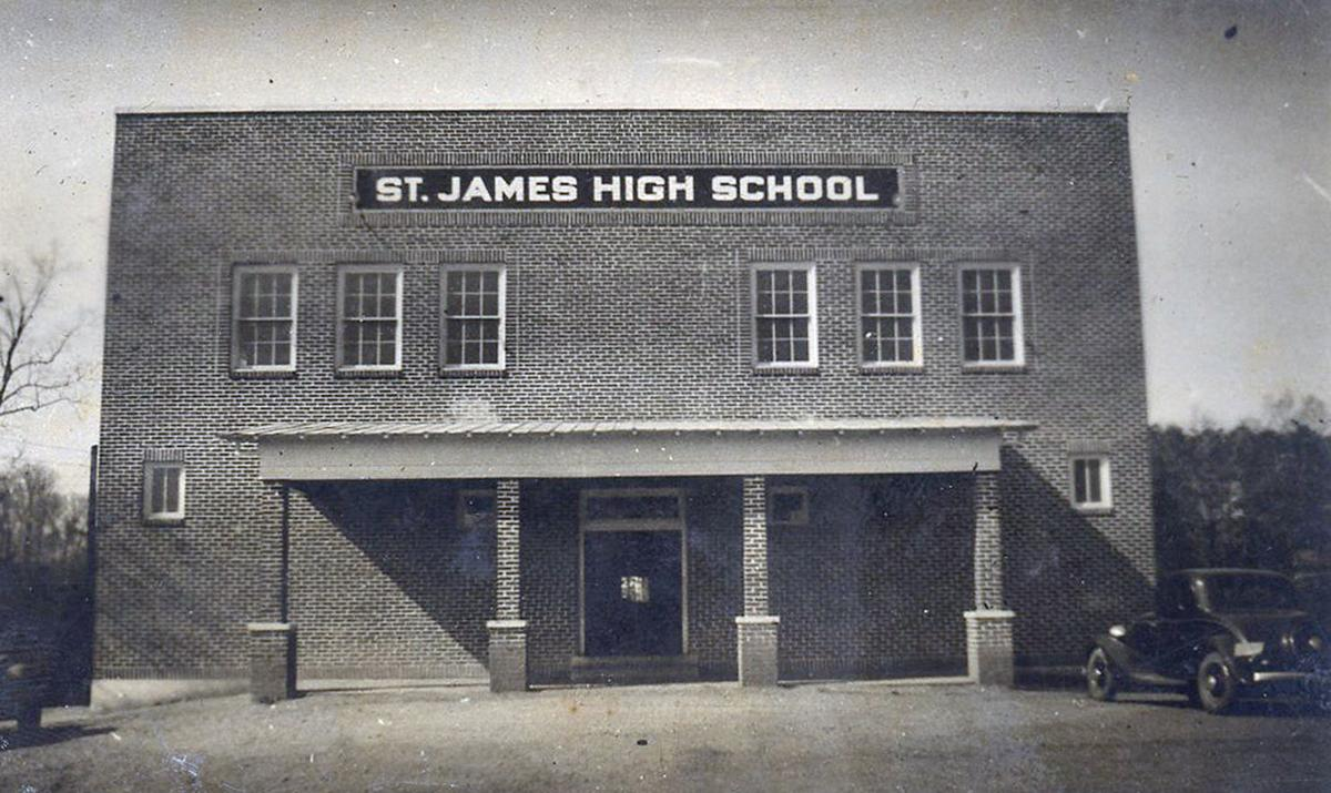 The Junior Class of St. James High School in 1936