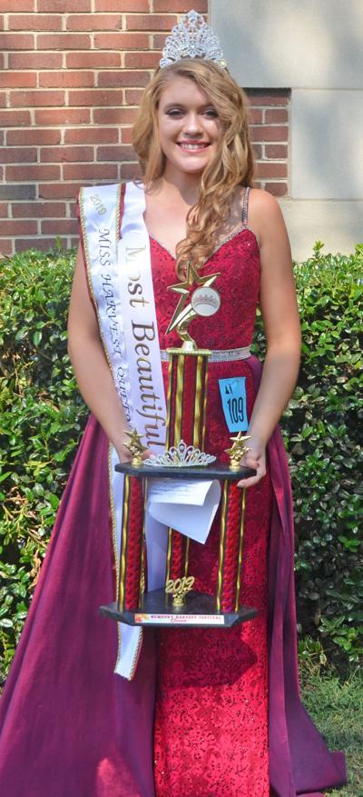 Cureton named Miss Harvest Queen